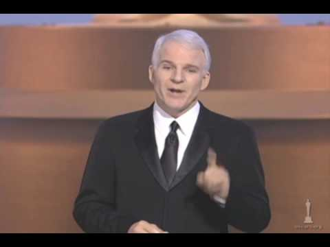 Steve Martin hosting the Oscars®