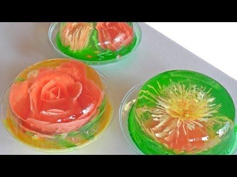 Receta para preparar gelatinas artísticas. Gelatinas artísticas / Serigrafía en gelatinas