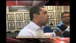 Vereadores resolve devolver dinheiro para a C�mara Municipal