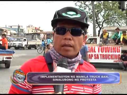 Manila Truck Ban implementation