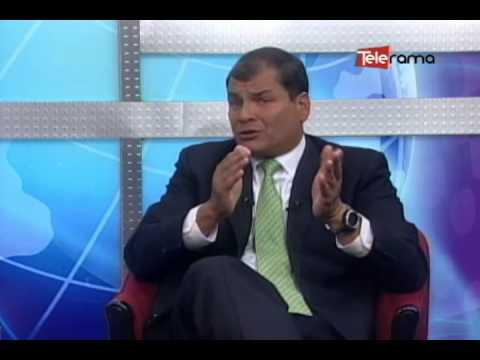 Diálogo con el presidente Rafael Correa - 7 de Enero del 2014