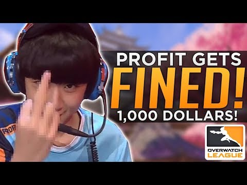 Overwatch: Pro Gets Fined $1,000! - Unfair to xQc Ban?