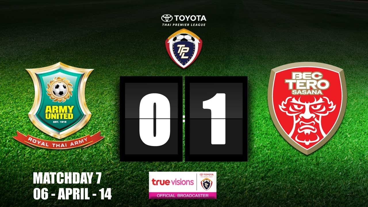 Royal Thai Army FC 0-1 BEC Tero Sasana