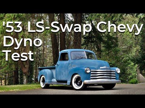 1953 Chevy Truck Dyno Tune - LS 6.0 L96
