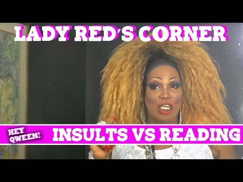 Lady Red's Corner: Insults VS Reading