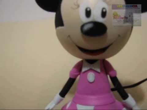 COMO HACER fOFUCHA MINNIE MOUSE EN FOAMY PARTE FINAL 3 DE 3 - YouTube