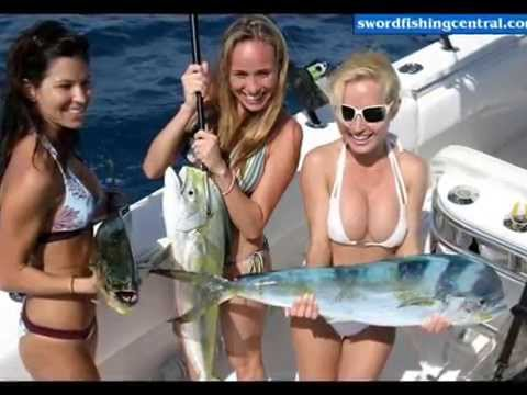HOT SEXY GIRLS FISHING