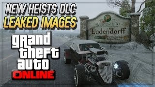 GTA 5 Online Heist - Leaked Images Of North Yankton And Heist DLC - (GTA V Online Heists)