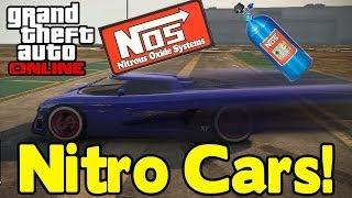 "GTA Online ""NOS"" NITROUS CAR MOD SHOWCASE (How To Get"