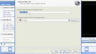 How To Capture Video Using Windows Movie Maker
