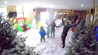 Crazy Indoor Snowstorm PRANK