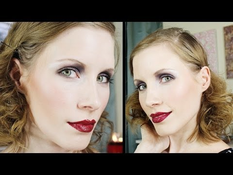 1920's & The Great Gatsby | Halloween Makeup Tutorial
