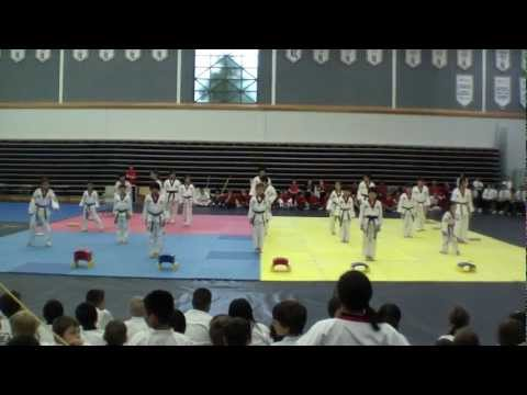 2011 BC Master Cup Taekwondo Demonstration - Team-K Taekwondo