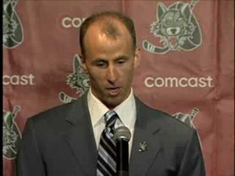 Chicago Wolves New Head Coach Press Conference