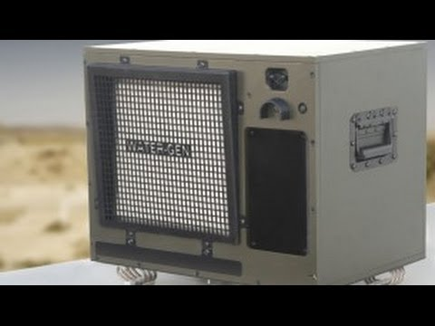 This machine makes drinking water from thin air | BREAKING NEWS - 27 APRIL 2014