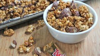 Twix Caramel Popcorn Recipe .RIP Diets