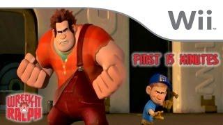 Wreck-It Ralph First 15 Minutes [Wii]