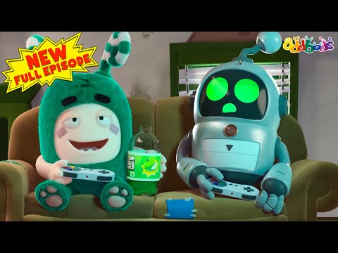 Oddbods | NEW | ROBO HELPER | Full EPISODE | Funny Cartoons For Kids