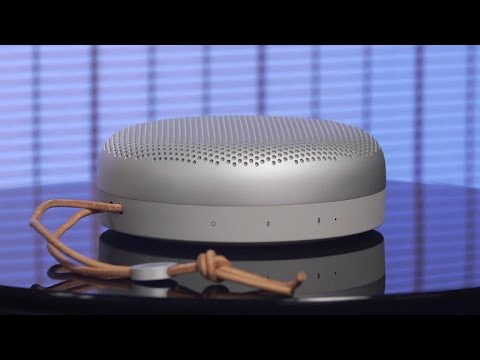 video Bang & Olufsen Beoplay A1 Portable Bluetooth Speaker with Microphone