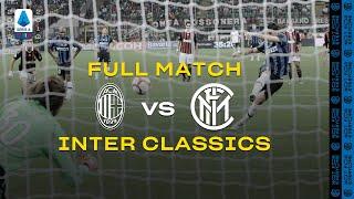 INTER CLASSICS | FULL MATCH | AC MILAN vs INTER | 2009/10 SERIE A TIM - MATCHDAY 02 ⚫🔵🇮🇹???