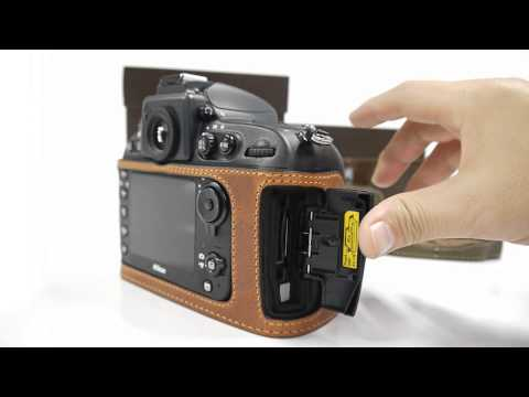 CIESTA Nikon D800 Leather Case