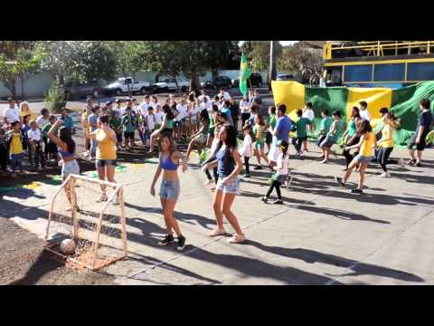 Coreografia da Copa 2014 - Gincana Fera Equipe Amarela
