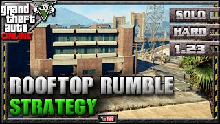 GTA 5 Online Rooftop Rumble 1.18 SOLO HARD Mission