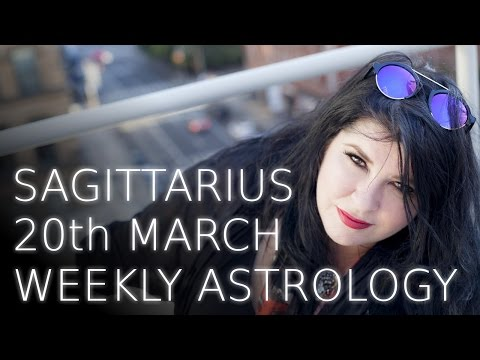 Sagittarius Weekly Astrology Forecast 20th March 2017