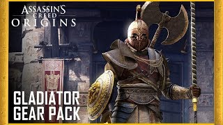 Assassin's Creed Origins - Gladiator Gear Pack Trailer