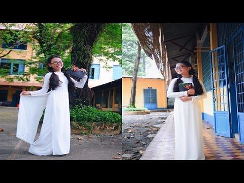 Á quân Giọng Hát Việt Nhí 2013 - Phương Mỹ Chi e ấp với áo dài trắng dịu dàng! - [Tin Tức 24h]