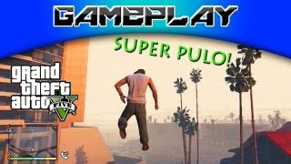 GTA 5 Código Do Super Pulo (Super Jump Cheat Code