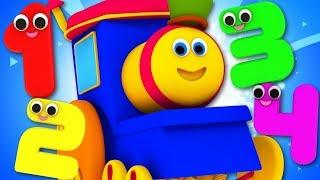 Bob The Train Cartoons For Children | Kindergarten Nursery Rhymes For Kids