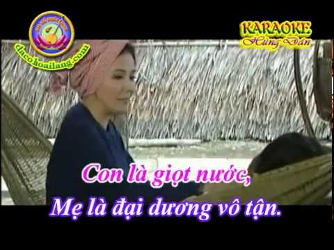 Karaoke Vong co - Bao La Tinh Me (Day Dao) - HD.avi