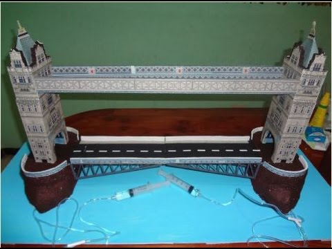 Procedimiento para elaborar maqueta The London Tower Bridge