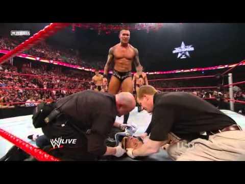 Randy Orton And Stephanie Mcmahon Randy Orton Attacks St...