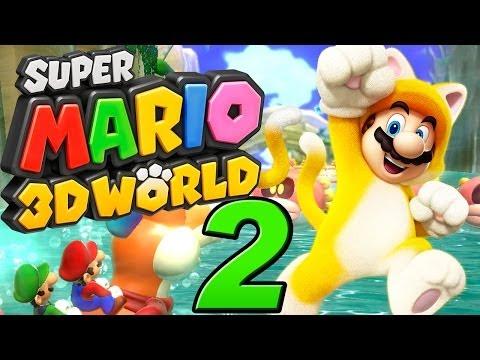 Let's Play Super Mario 3D World - Part 2 - Plessie, Kapitän Toad und