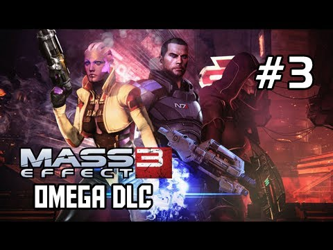 Mass Effect 3 Walkthrough - Omega DLC Part 3 A Wild Female Turian Appears Let's Play Gameplay