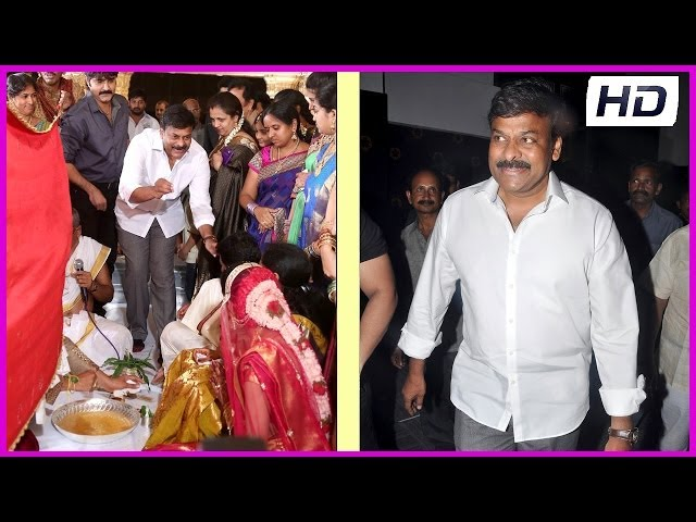 Sivaji Raja Daughter Marriage Photos (HD)