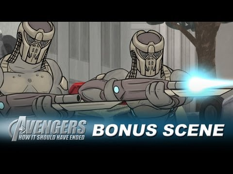 How The Avengers Should Have Ended - Bonus Scene, Two Chitauri buddies discuss their life in the evil alien army. Watch out for that Tank Missile fellas! Thanks for watching and don't forget to click that 'L...