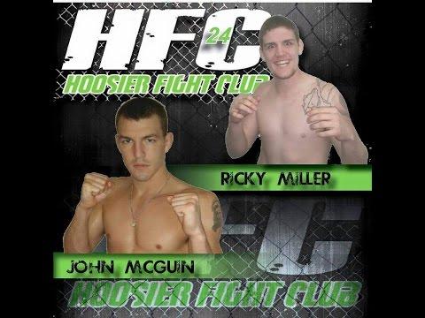HFC 24: John McGuin vs Ricky Miller