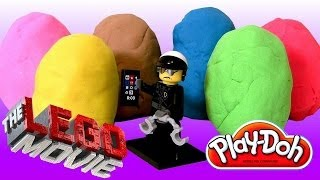 Play Doh Lego The Movie Easter Eggs Surprise + Lego