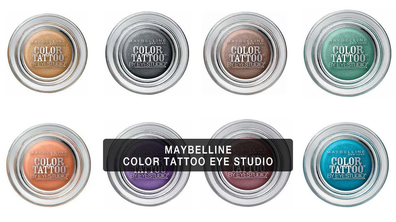 Expert makeup review maybelline eye studio color tattoo for Color tattoo eye chrome