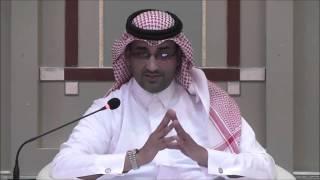 محاضرة الملاحة في بحر مضطرب للباحث في الشئون السياسية والعسكرية العقيد إبراهيم آل مرعي