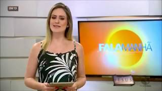 São Mateus e destaque no Programa Fala Manhã da Rede record/TV Vitória