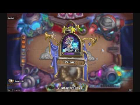Legendary Hearthstone arena run fail funny moments