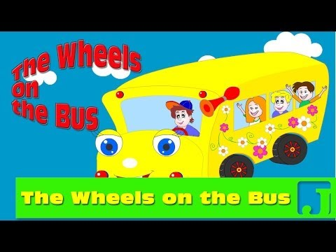 Wheels on The Bus | Nursery Rhymes | Children songs