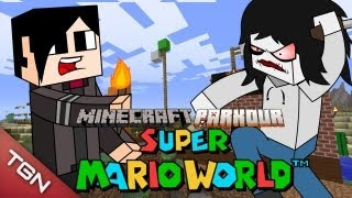MINECRAFT PARKOUR: SUPER MARIO WORLD
