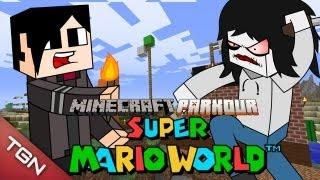 MINECRAFT PARKOUR: SUPER MARIO WORLD
