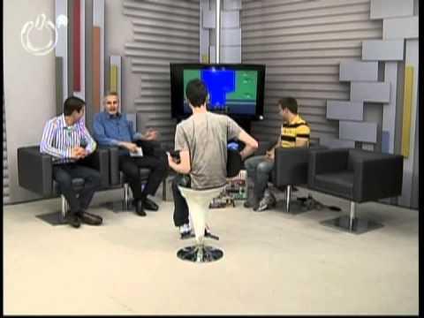 Bloco 1 Passado e Presente - Atari + Guitar Hero - Antonio Borba e Raylan Cross - 25/09/12 ÓTV