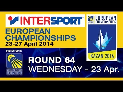 R64 - MS - Dmytro Zavadsky vs Gabriel Ulldahl - 2014 INTERSPORT European C'ships